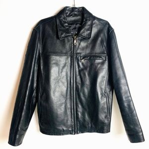 Host Pick DIMITRI CUIR THICK LEATHER COAT JACKET